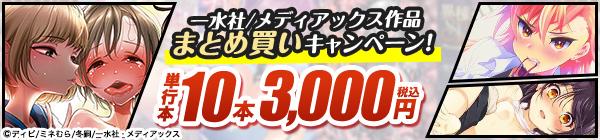 一水社・メディアックス 10本3,000円(税込)まとめ買いセール!