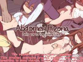 Abdomen Ryona - Belly torturing animations