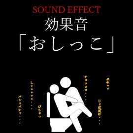 【効果音】「おしっこ」の音 ※おまけ「潮噴き」の音ファイル付き