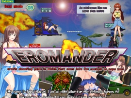 Eromander-erotic shooting game in which they come into the cockpit to r*pe you!