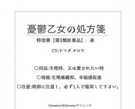 憂鬱乙女の処方箋~特効薬【第3類医薬品】弟~