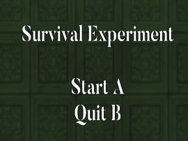 Survival Experiment