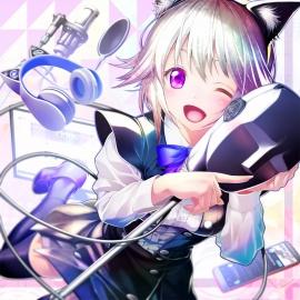 【耳かき】癒し妹猫、黒咲りん【添い寝】
