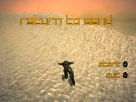 Return to Sand