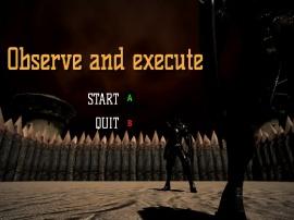 Observe and execute