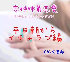 恋仲姉弟恋愛~お姉ちゃんとイチャラブH~ 平日朝からイチャラブ編