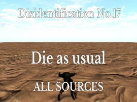 Disidentification_No.17_Die as usual