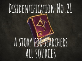 Disidentification_No.21_A story for searchers