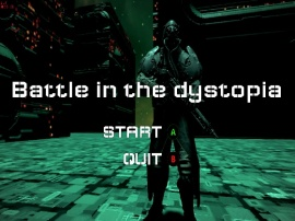 Battle in the dystopia