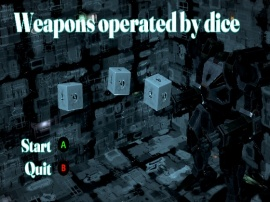 Weapons operated by dice