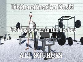 Disidentification_No.35_Seeking power in the decline