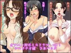 オナニー用ボイスドラマvol1 フェラチオ編 3本パック