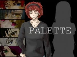 立ち絵素材【PALETTE】フルセット