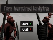 Two hundred knights