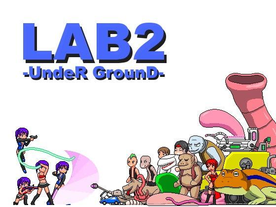 【感想/攻略】LAB2-UndeR GrounD-【ドットエロアクション】