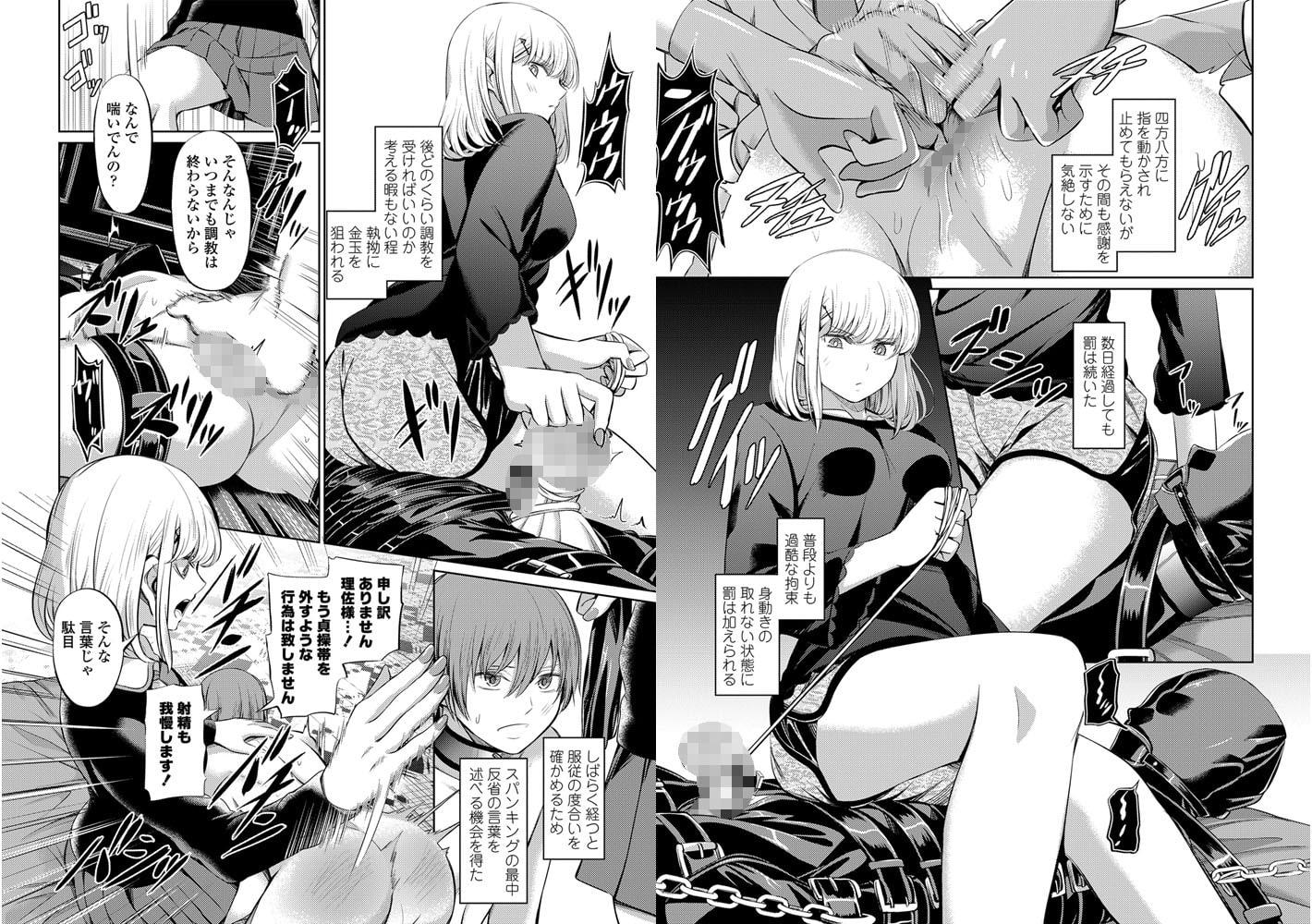 ペニバン逆アナル!ドライオーガズムで絶頂したいM男向けエロ漫画 BEST 10