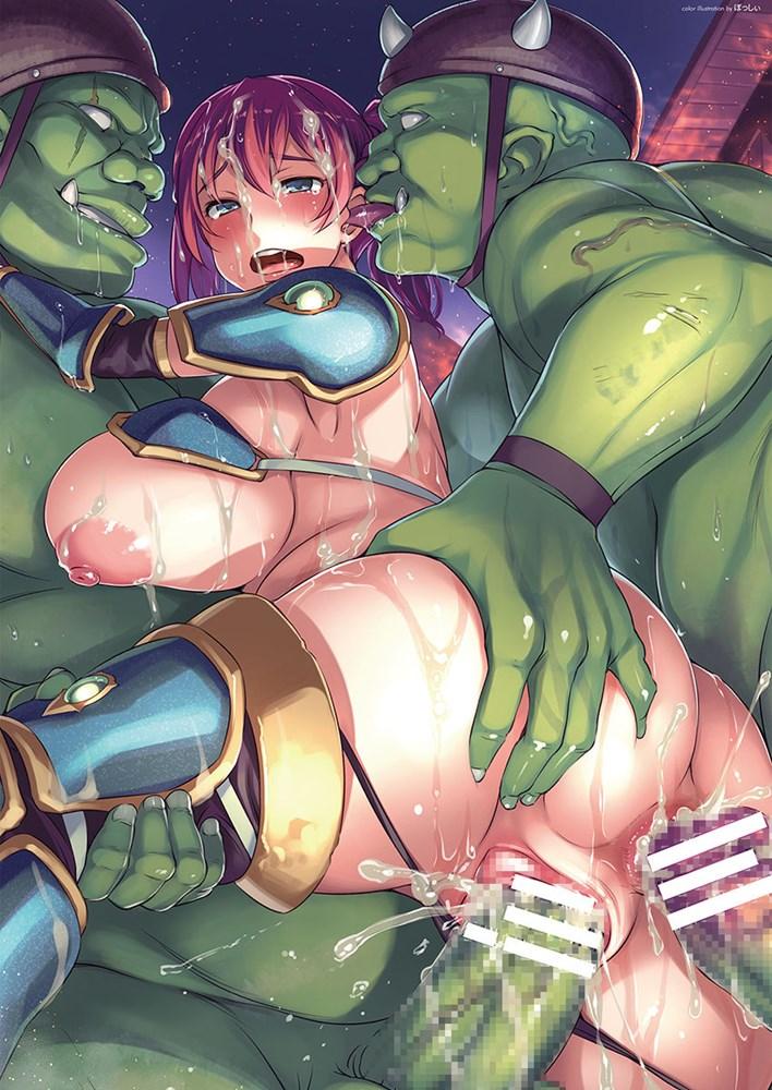 【異種姦・RPG】モンスターに襲われる!異種姦のある同人RPGまとめ