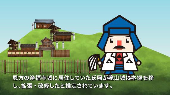 AR・VRで城跡巡り~AR滝山城跡体験