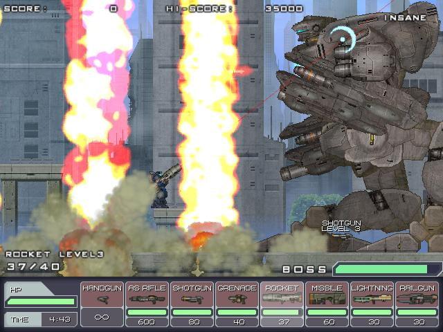 実況/ただ単に、その渋いメカデザインに恋しちゃう!鉄、弾、爆発、破壊。